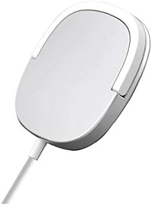 Draadloze Oplader 15W Magnetische Ring Stand Snel Opladen Zilveren Oplader Compatibel met iPhone 12