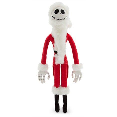 Jack Skellington Sandy Claws Plush - Medium - 22'' (Sandy Claws Costume)