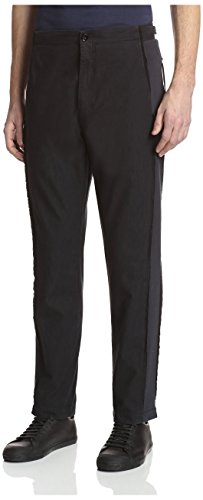 Silent Damir Doma Men's Palya Classic Trousers, Black, - Damir Men Doma