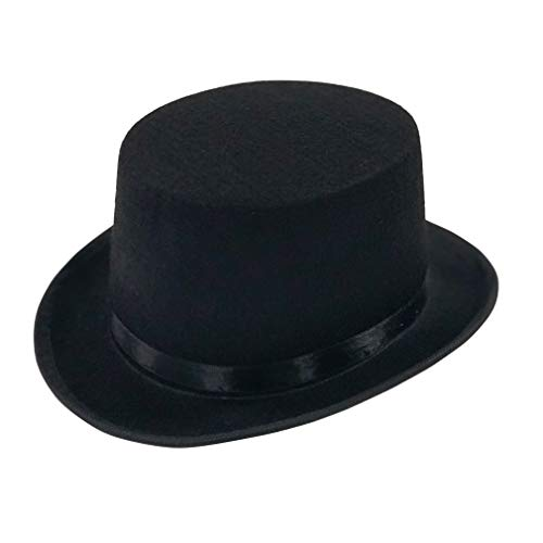 Kids Deluxe Black Costume Top Hat