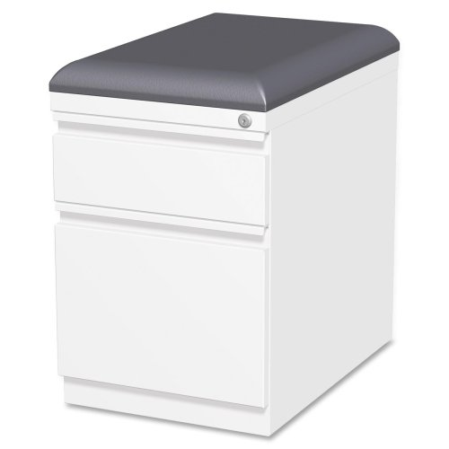 LLR49540 – Lorell Mobile Pedestal File with Seating