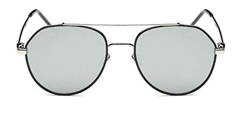 Plateado Gafas De Gafas De Sol De De Retro Playa Conducción Viaje Sol PHwaPpfg