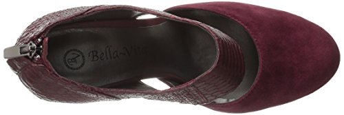 Crocodile Vita Bella Pump Women's Burgundy Neola Dress xB0AWwpqv