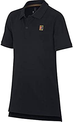 Nike B NKCT Heritage Polo - Polo, Niño, Negro(Black/White): Amazon ...