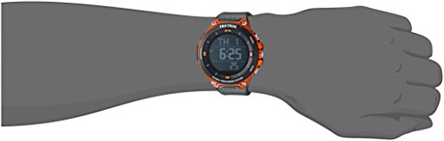 Casio Men's 'PRO TREK' Quartz Resin Outdoor Smartwatch, Color:Orange (Model: WSD-F20-RGBAU)