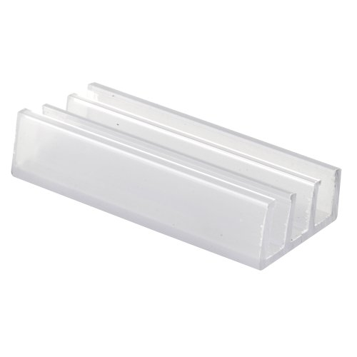 - Prime-Line Products M 6089 Shower Door Bottom Guide, Nylon,(Pack of 2)