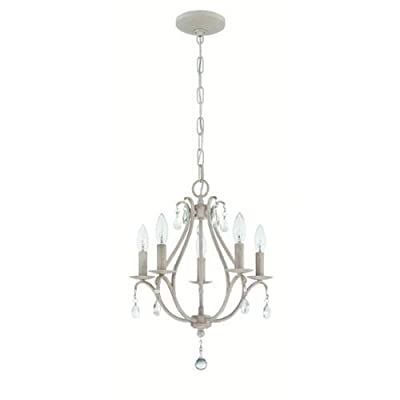 Jeremiah Lighting 1015 5 Light 1 Tier Candle Style Chandelier - 15 Inches Wide,