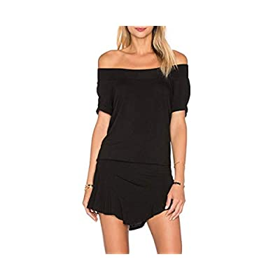 Riller & Fount Jordy Romper in Black: Clothing