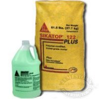 Sika SikaTop 122 Plus, 2-Component Repair Mortar - 1 Gallon Jug + 61.5 Lb Bag (Contact Cement Spray Gun compare prices)