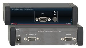 (Radio Design Labs EZ-VM12 VGA/XGA Distribution Amp, 1x2)