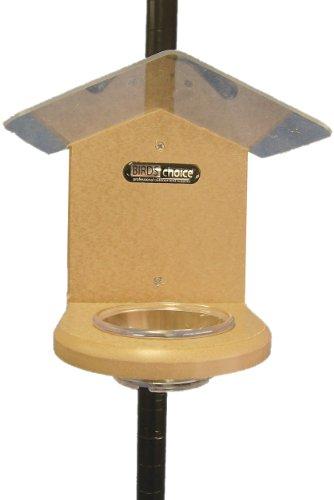 - Birds Choice Pole-Mounted Mealworm Feeder