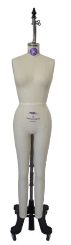 Manne-King 3/4 Ladies Professional Full Body Form Mannequin Size 14 by Manne-King