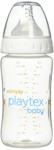 - Simply Playtex BPA Free Baby Bottles, 9 Ounce - 3 Pack