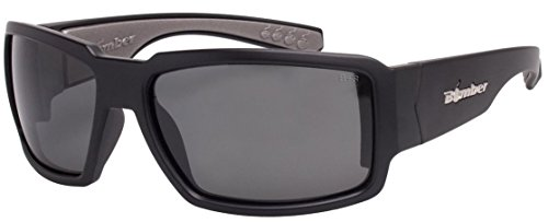 - Bomber Sunglasses - Boogie Bomb Matte Black Frm / Smoke Pc Safety Lens / Gray Foam