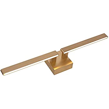 Amazon.com: 22W Bathroom Vanity Lights Satin Brass,2700K