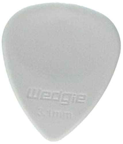 (Wedgie WRPP31S 3.1mm Soft Wedgie Rubber Pick, 3 Pack)