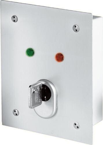 Abus SE1100 Interrupteur à clé pour montage encastré 2040043