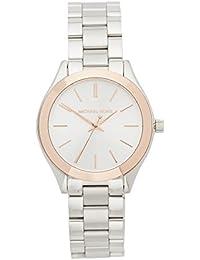 Women's Mini Slim Runway Silver-Tone Watch MK3514