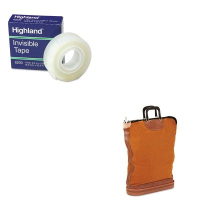 KITMMM6200341296PMC04645 - Value Kit - Pm Company Regulation Post Office Security Mail Bag (PMC04645) and Highland Invisible Permanent Mending Tape (MMM6200341296) ()