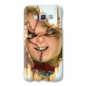Case Carcasa Samsung Galaxy J3 (2016) J310 Horreur - - Chucky blanc -