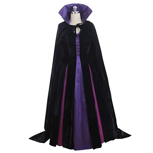 CosplayDiy Women's Dress for Snow White Evil Queen Cosplay Costume XXXL -
