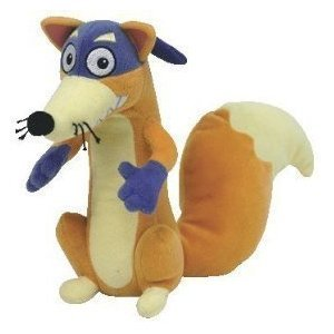 52234a720cb Image Unavailable. Image not available for. Color  Ty Beanie Baby Swiper  Dora s Fox