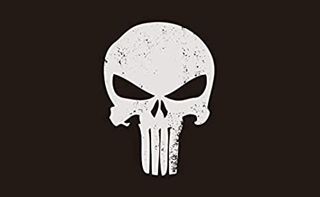 82dfe5be68137 Punisher Skull Flag - 3' x 5'