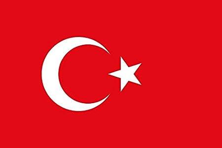 Gran Bandera de Turquia 150 x 90 cm Satén Durobol Flag: Amazon.es: Deportes y aire libre