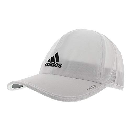 - adidas Men's Superlite Relaxed Adjustable Performance Cap, White/Black, One Size