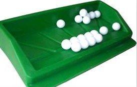 グリーンプラスチックゴルフボールトレイ( 8pcsカウント B0714DSQ48