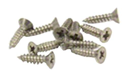 Magnet Expert® Tête de 4mm de diamètre x 2,2mm de diamètre Filetage X 9,5mm de long en acier inoxydable Vis (lot de 10)
