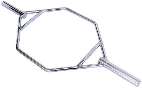 Ader Sporting Goods Olympic Hex Trap Bar Chrome Plated