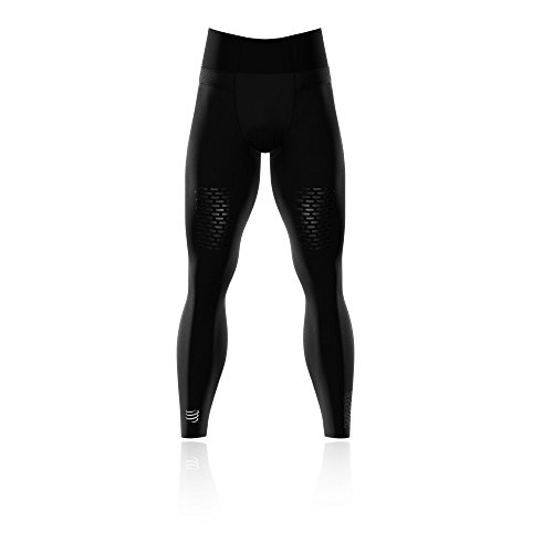 Compressport Under Control Trail Running Full Tight - SS19 - Large - Black by Compressport (Image #1)