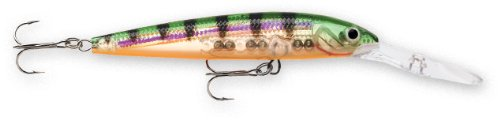 Rapala Down Deep Husky Jerk 10 Fishing lure, 4-Inch, Glass Perch