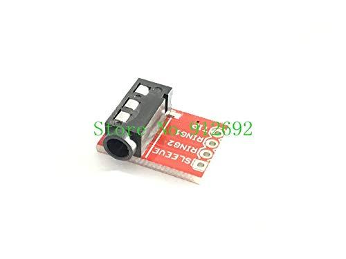 (Xucus 1pcs TRRS 3.5mm Jack Breakout Headphone Audio Video MP3 Block Interface Modules)