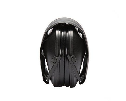 Nachvorn Adjustable Hearing Protection Earmuffs, Shooting Ear Defenders - Noise Reduction Tactical Ear Muffs, Black