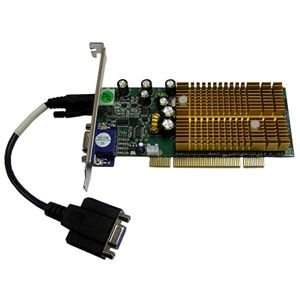 Jaton Geforce 6200 Graphics Card . Nvidia Geforce 6200 . 256Mb Ddr Sdram . Hd. 15, Md. 9