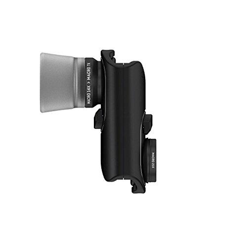 olloclip MACRO PRO LENS SET for iPhone 7 & 7 Plus: Black Lens/Black Clip (iPhone Lens)