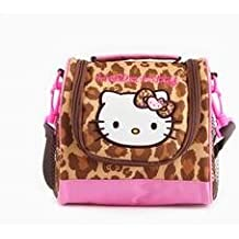 Hello Kitty Lunch Bag with Container: Leopard