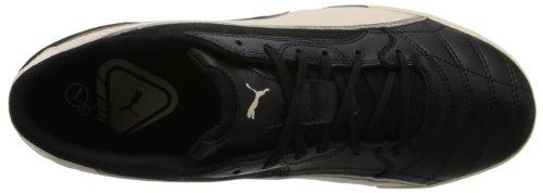 Puma - - Hombres Momentta Vulc Sala Zapatos Black-White Swan-Fossil