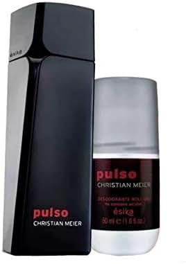 Pulso Christian Meir for Men by Esika, 1 Eau de Toilette 3.4 fl. oz. and 1 Antiperspirant Roll-On Deodorant 1.6 oz. Set