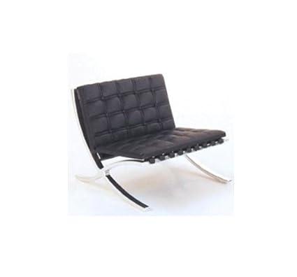 Mid Century Modern Design Miniature 1/12 Mr90 Barcelona Chair-black  sc 1 st  Amazon.com & Amazon.com: Mid Century Modern Design Miniature 1/12 Mr90 Barcelona ...