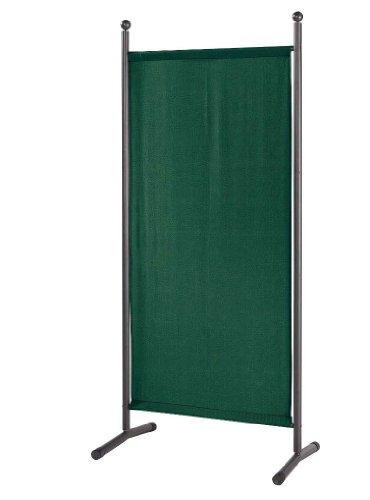 Stellwand Paravent Raumteiler Trennwand Sichtschutz 78x178cm Grün