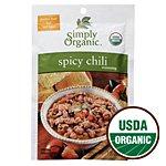 Simply Organic Spicy Chili Seasoning Mix, ORGANIC