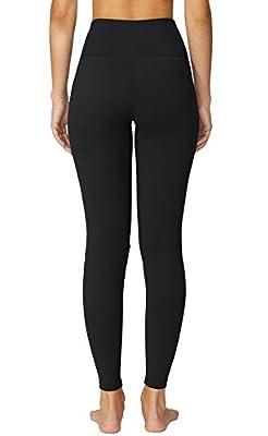 FIRM ABS Women's High Waist Yoga Pants Hidden Pocket Non See-through Fabric