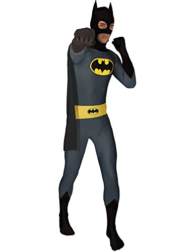 Rubie's Men's Dc Comics Superhero Style Batman Body Suit, Multicolor, Medium -