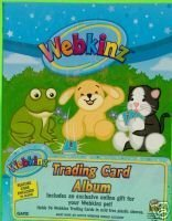 (Webkinz Accessories Trading Card Album holds 96 trading cards)