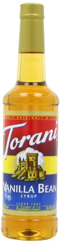 Torani Syrup, Vanilla Bean, 25.4-Ounce Bottles (Pack of 3)