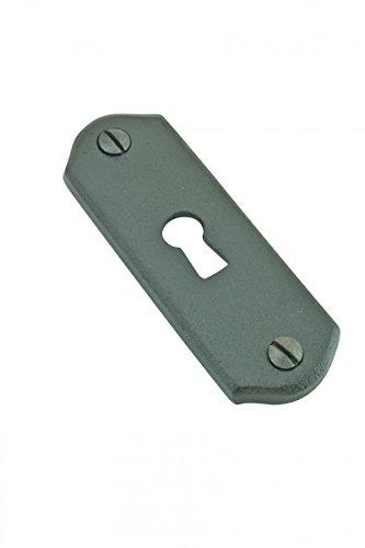 Escutcheon Black Wrought Iron Keyhole Cover 3