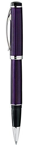 Xezo Diamond Cut Gel Ink Rollerball Pen (Incognito Purple R) by Xezo (Image #3)